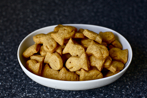 Be Different...Act Normal: Whole Wheat Goldfish Crackers