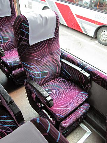 ジェイ・アール北海道バス「ポテトライナー」 3383 シート