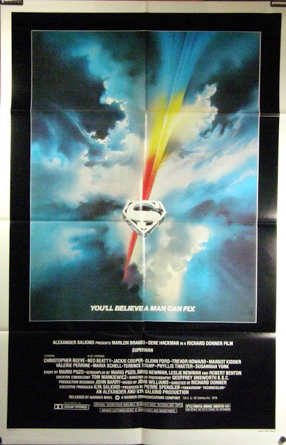 Superman The Motion Picture Film Poster