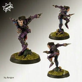 Elfos Oscuros Willy Miniatures