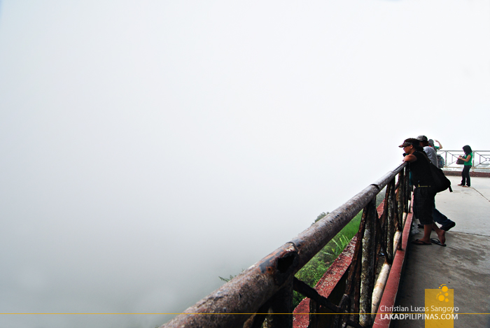 Foggy Day at Tagaytay's People's Park in the Sky