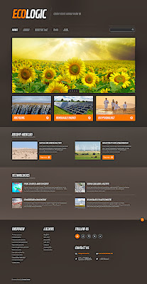 Solar Energy Responsive WordPress Theme