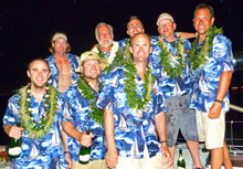 J/145 offshore racer Doubletake team wins Vic-Maui