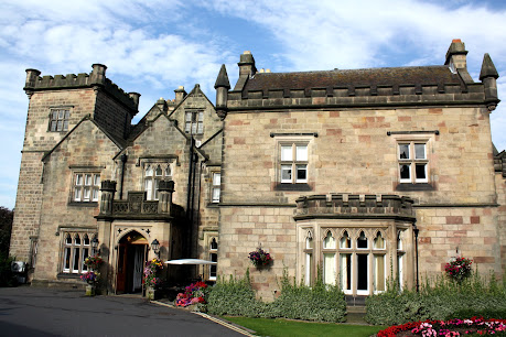 Breadsall Priory hotel in Derbyshire