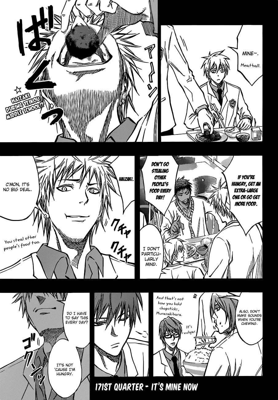Kuroko no Basket Manga Chapter 171 - Image 01