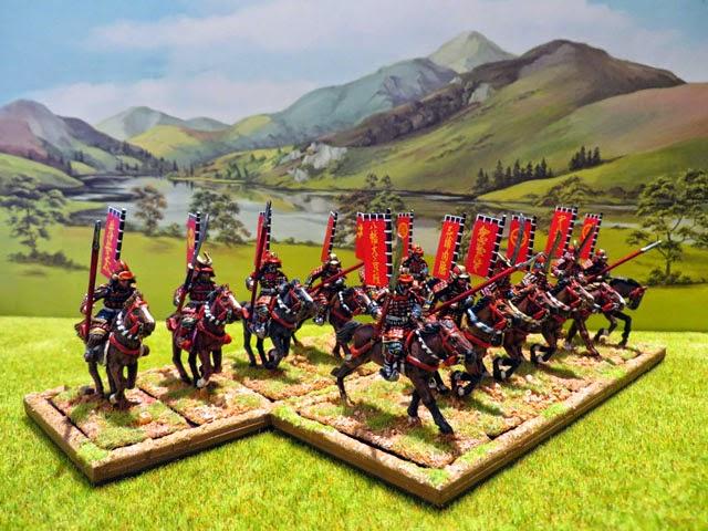 [Warhammer Fantasy] Mes Nippons ! *** Les kirins (et fin !) *** Nippons_SamuraisCavalerie_640