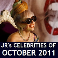 JR's 15 Celebrities of October 2011