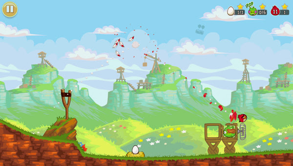 Angry Birds ra mắt phiên bản Red's Mighty Feathers 7
