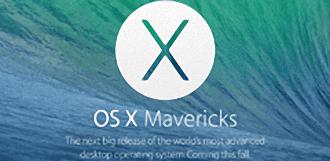 OS X Mavericks ya se ejecuta en el 40% de los Macs