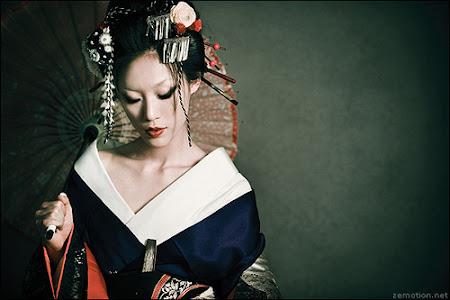 maquiagem geisha