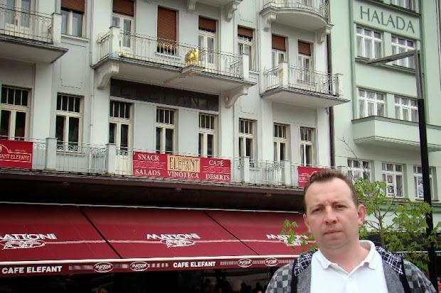Карловы Вары (кафе элефант, где штирлиц встресался с супругой)