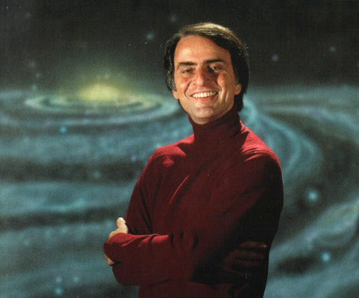 Carl Sagan, you are the man!