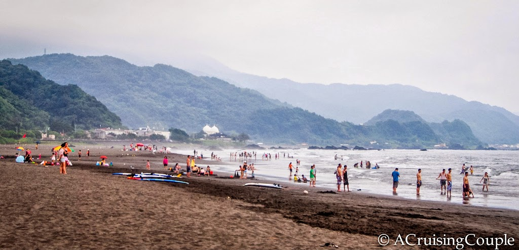 Taiwan Road Trip! Wushi Beach, in Yilan
