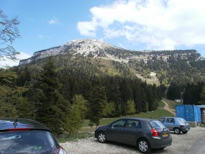 Chartreuse - Chamechaude depuis Col de Porte