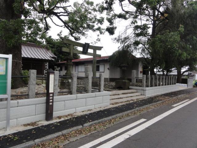 諏訪神社 東海道五十三次