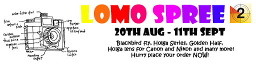 The Toy Camera Shop Lomo Spree 2011