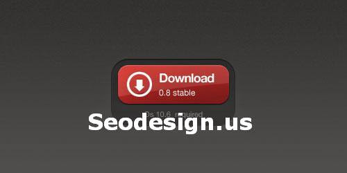 Free Red Download Button