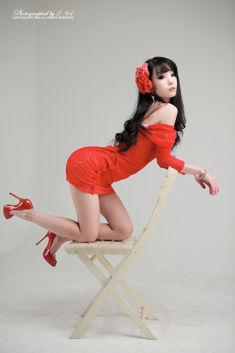 Sexy+Im+Soo+Yeon%21 016 Beautiful Im Soo Yeon Photos in Red Dress