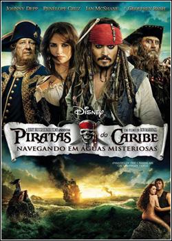 Piratas do Caribe 4 - Navegando em Águas Misteriosas DVD-R