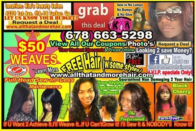 ... Atlanta's Most Natural Looking Sew In Hair Weaves Done Right! Call 678
