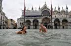 Venice under water! Veneza debaixo de água!
