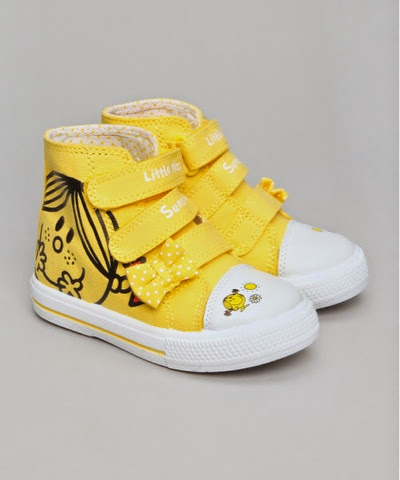 Character Kicks Little Miss Sunshine High Tops