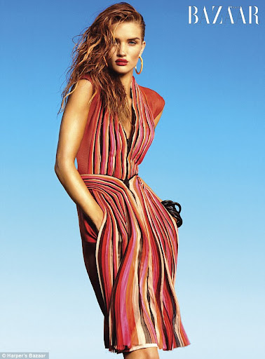 "Rosie Hungtington-Whiteley ""Spring Forward"" (Harper's Bazaar)"