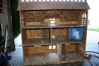 Modistamodesta Large Doll House By Randy Barton