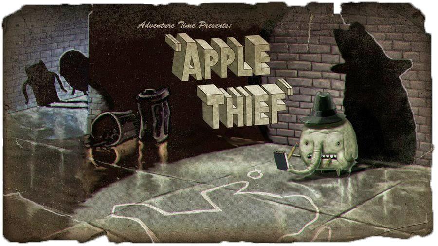 O ladrão de maçãs