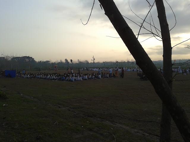 Lapangan Desa Grogol, Tempat diselenggarakan Shalat Ied Adha