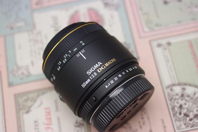 シグマ 50mm F2.8 EX DG MACRO