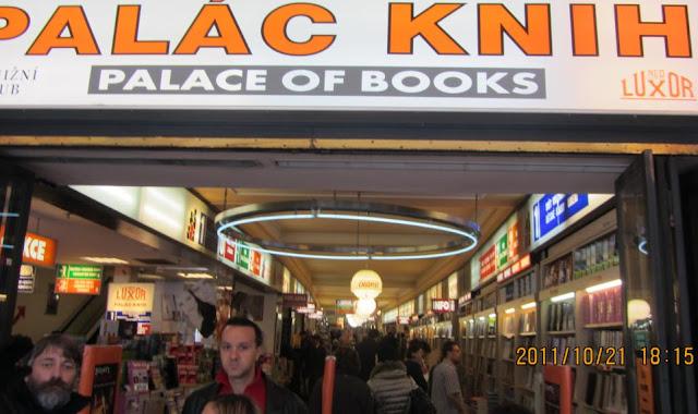 布拉格市中心的書店