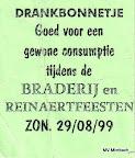 Getränkegutschein Lochristi 1999