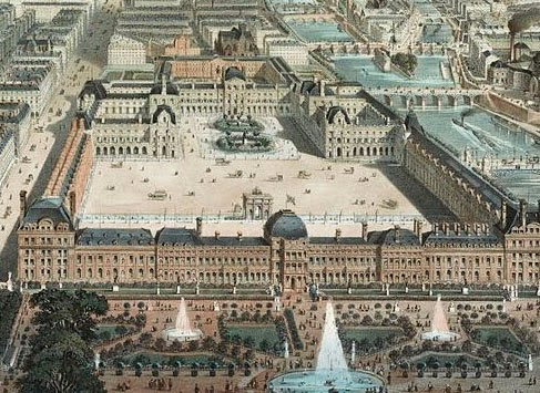Delicieux Did Pei Look At Kepleru0027s Horoscope For The Pyramid Entrance To The Louvre?  Compare The Plan View Of The Louvre Entrance With Kepleru0027s Zodiac And The  Ancient ...