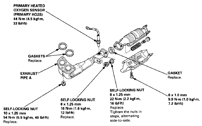 diagram of 1999 vw beetle exhaust system  diagram  free