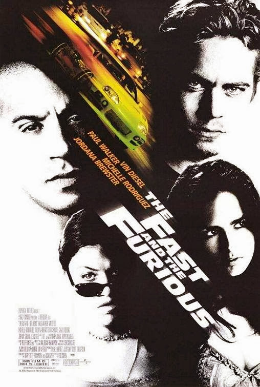 Poster Of The Fast and the Furious (2001) Full Movie Hindi Dubbed Free Download Watch Online At Alldownloads4u.Com