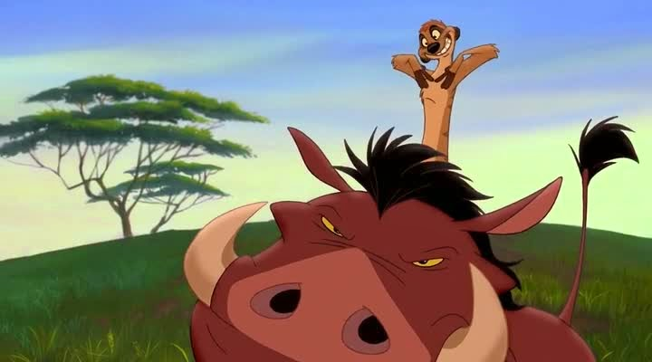 Screen Shot Of Hollywood Movie The Lion King 2: Simba's Pride (1998) In Hindi English Full Movie Free Download And Watch Online at Alldownloads4u.Com