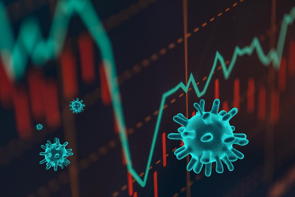 Novo coronavírus também afetou a situação econômica brasileira. (Fonte: Shutterstock)