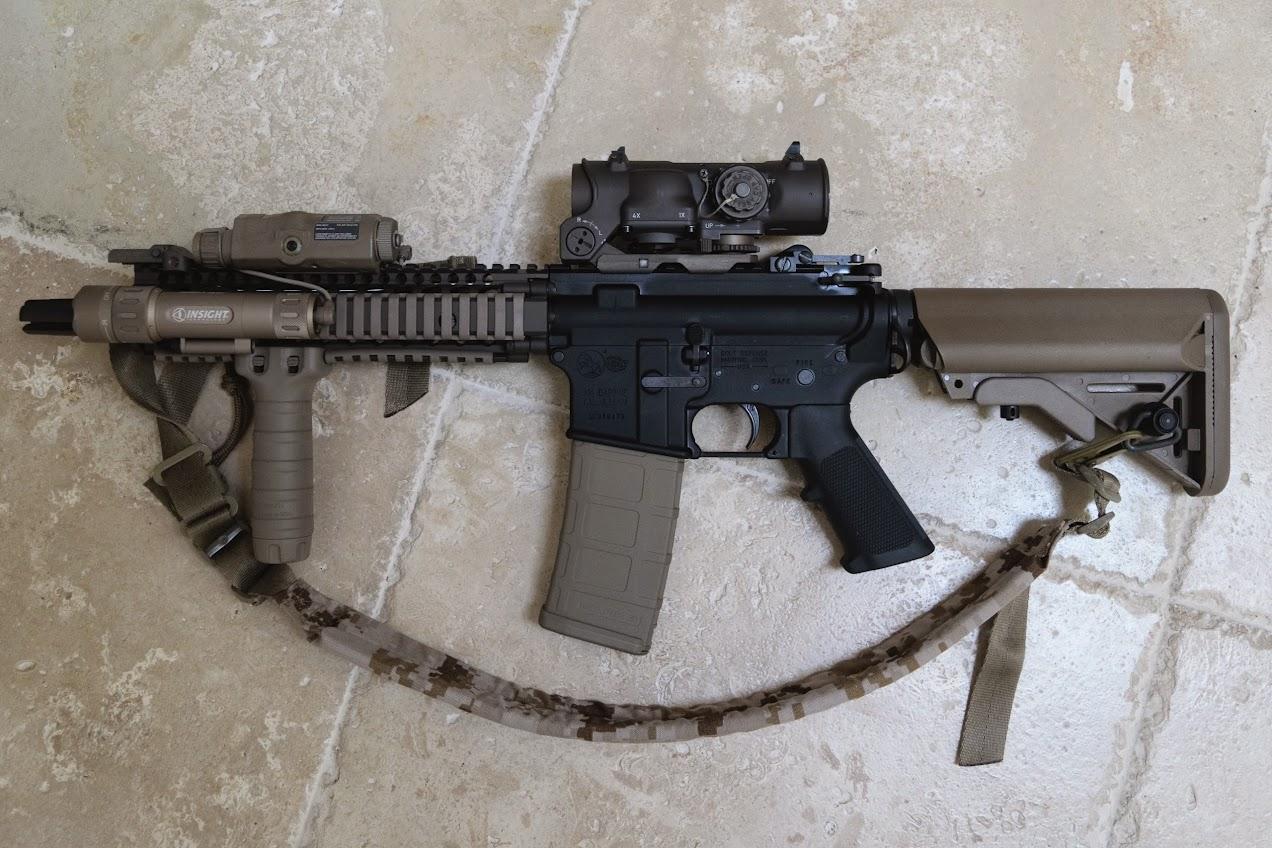 The Definitive Colt MK18 / CQBR SOPMOD Block II Build