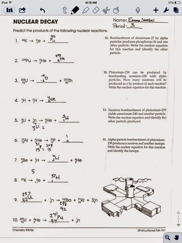 nuclear chemistry worksheet k the large and most comprehensive worksheets. Black Bedroom Furniture Sets. Home Design Ideas