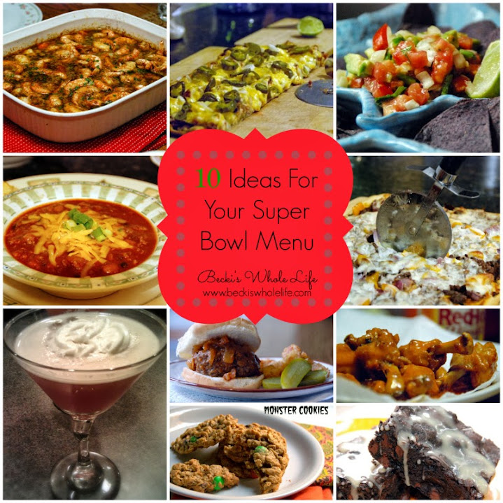 Ten Super Bowl Menu Ideas