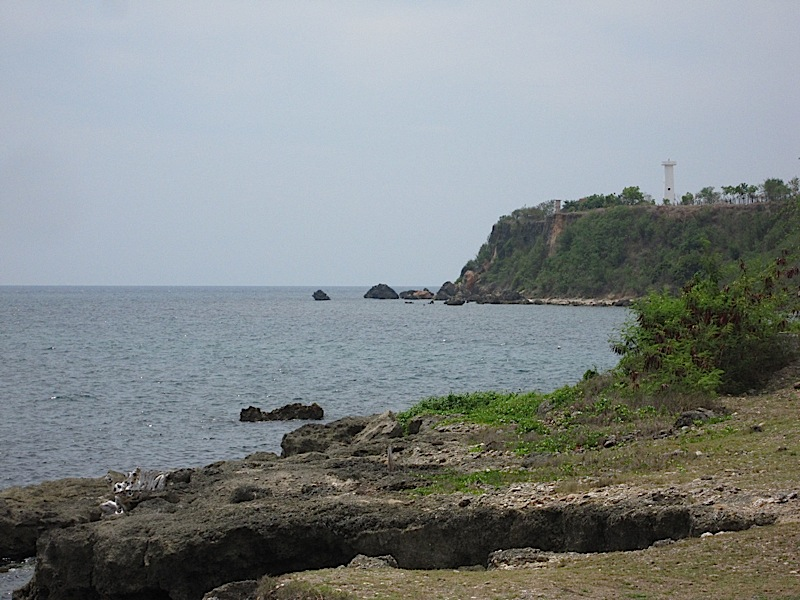 Poro Point lighthouse in San Fernando, La Union