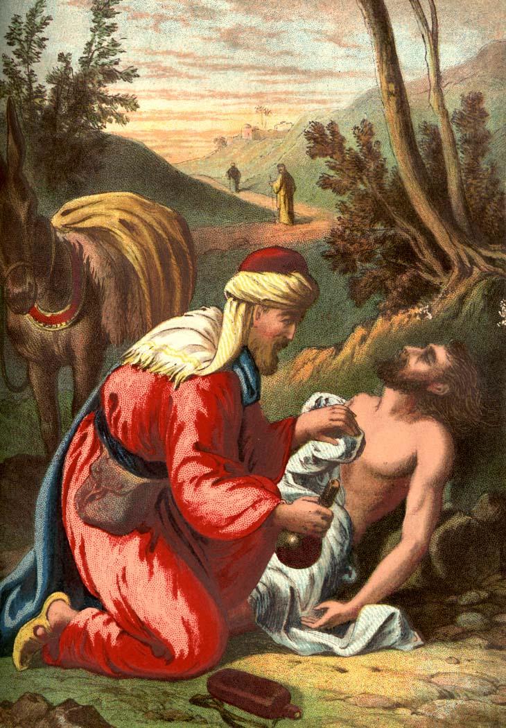 Story of Good Samaritan 031711» Vector Clip Art - Free ...