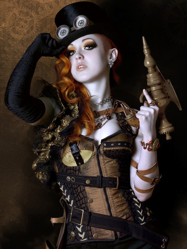 Sexy Steampunk Girl 7