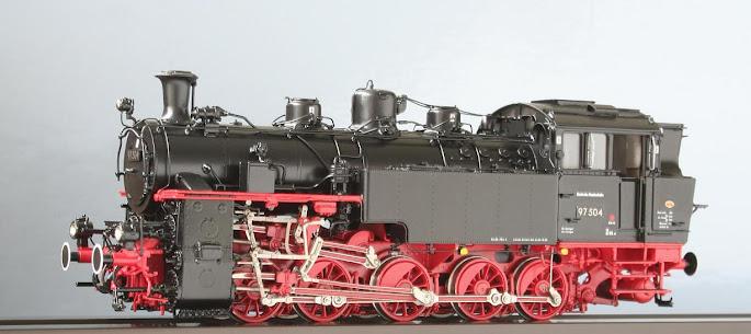Modeli parnih lokomotiva DRG 04205H-Lv