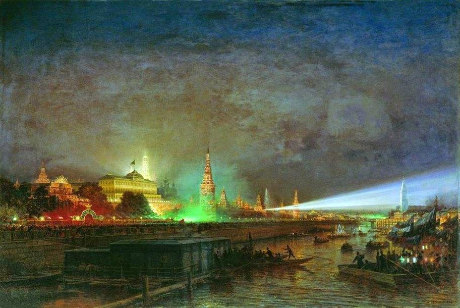 Alexey Bogolybov - Illumination of the Kremlin