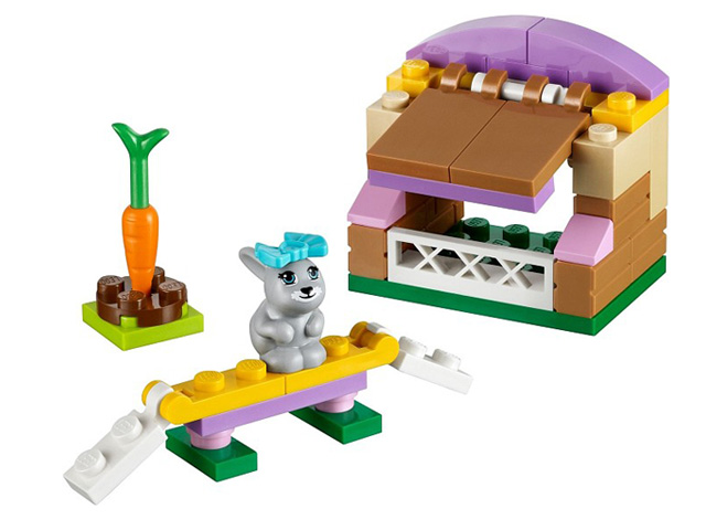レゴ フレンズ ウサギとミニハウス 41022