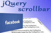 jScrollPane - jQuery Scrollbar như facebook