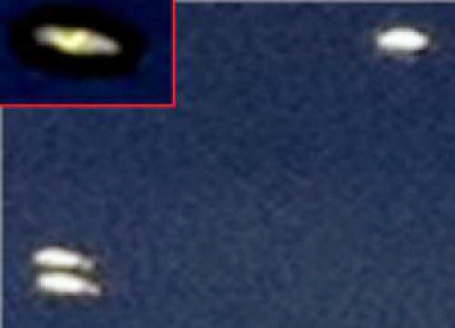 Ufos Photographed From A Plane Over France 21 Aug 2011