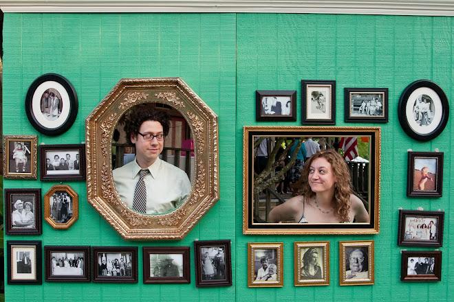 wedding photo booth wall